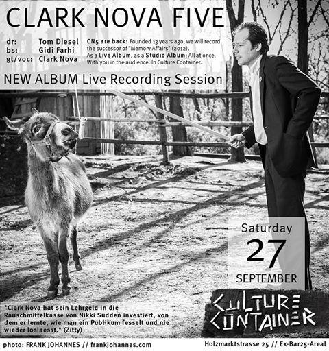 Clark-nova-five Live-Album-Recording Culture-Container