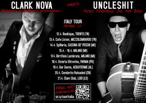 Clark Nova and Uncleshit Italy Tour Dates