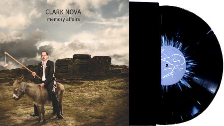 """Clark Nova """"Memory Affairs"""" Vinyl Record Cover"""